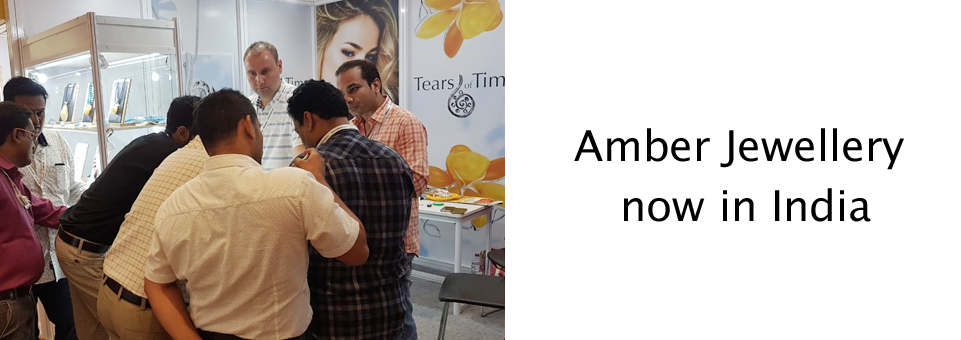 Amber Jewellery now in India